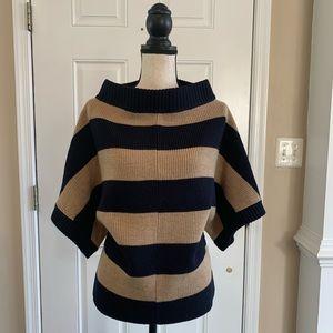 Tory Burch merino Wool striped sweater Sz xs